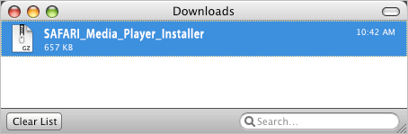 Save Media Player