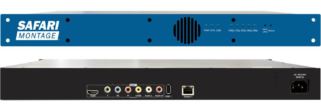 SAFARI Montage HLS Unicast Encoder