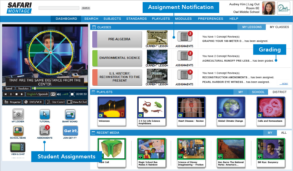 Curriculum Developer View