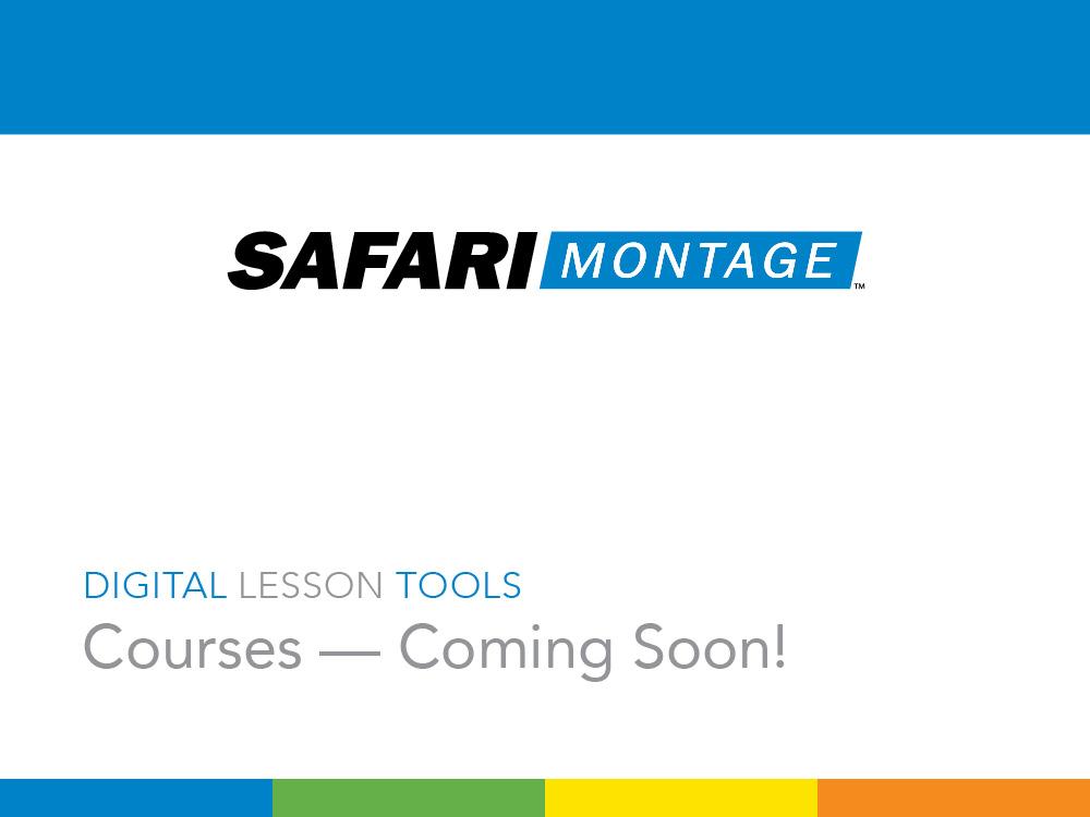Safari montage tutorial youtube.